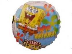 Singing Ballon - Happy Birthday Sponge Bob