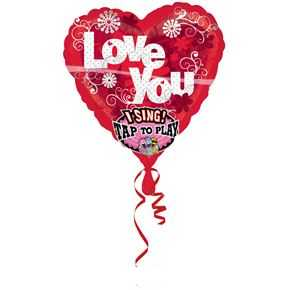 Singing Balloon Love you