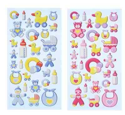 Baby Party Softy Sticker
