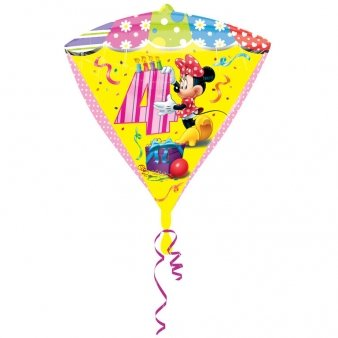 Diamonds Minnie Mouse Folienballon 4