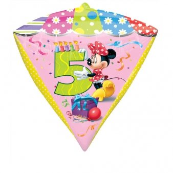 Diamonds Minnie Mouse Folienballon 5