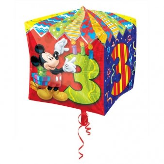 Cubez Mickey Mouse Folienballon 3