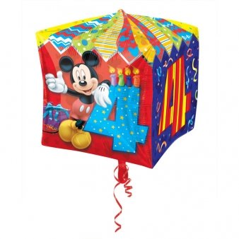 Cubez Mickey Mouse Folienballon 4