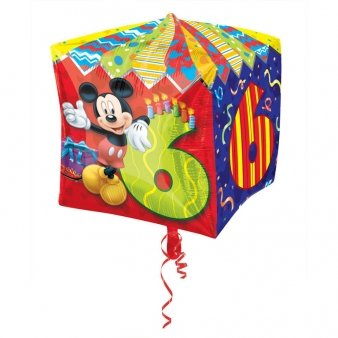 Cubez Mickey Mouse Folienballon 6