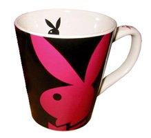 Playboy-Cappuccino Tasse PINK