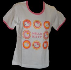 Sanrio-T-Shirt CIRCLE RED