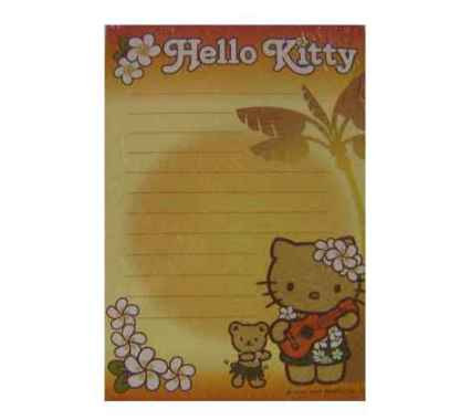 Hello Kitty Notizblock Lei