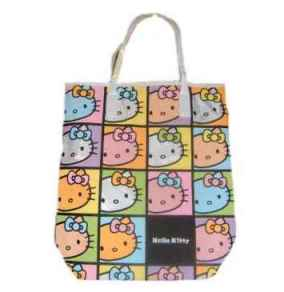 Hello Kitty Tragetasche Colorful Face