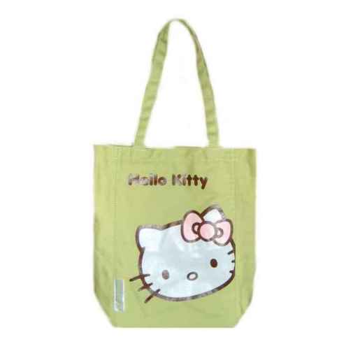 Hello Kitty Leinentasche Face KHAKI