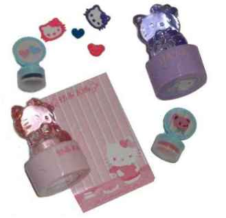 Hello Kitty Stempel Set BEAR