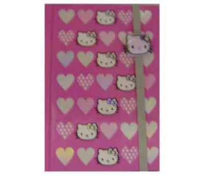 Hello Kitty - A6 Notizbuch Hearts