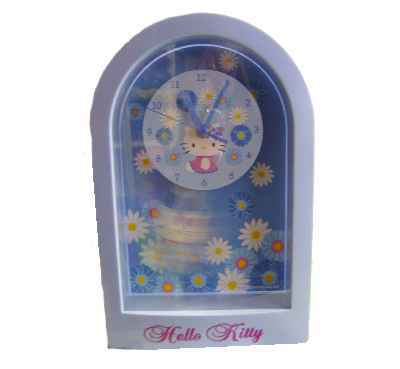 Hello Kitty Wanduhr Flower