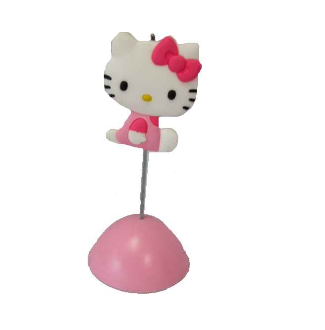 Hello Kitty Memohalter Sitting Kitty