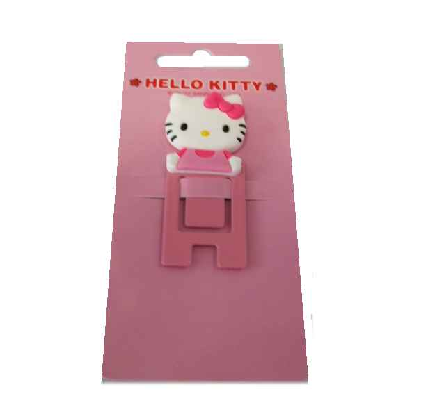 Hello Kitty Memoclip Klemme rose