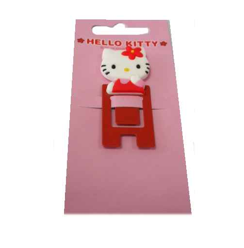 Hello Kitty Memoclip Klemme rot