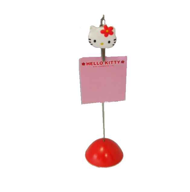 Hello Kitty Memohalter ROT