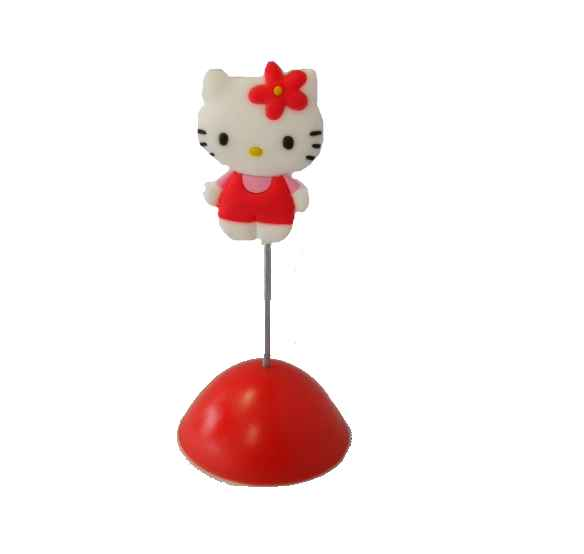 Hello Kitty Memohalter Standing Kitty