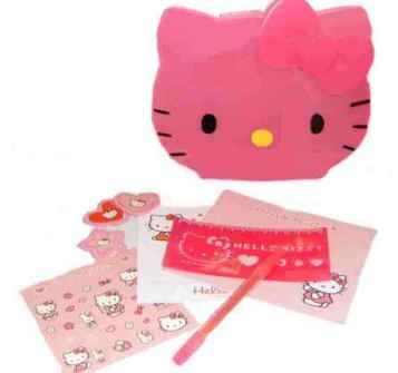 Hello Kitty Briefpapier Set