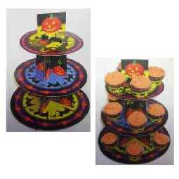 Halloween Etagere Scary Muffin