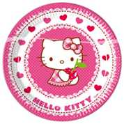 Hello Kitty Pappteller Love Cherry