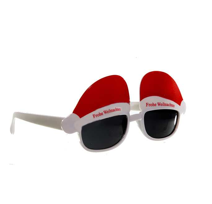 Party-Brille Frohe Weihnachten