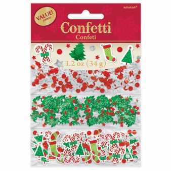Merry Christmas 3 in 1 Konfetti
