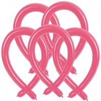 100 Modellierballons - 260Q - Pink
