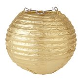 Lampion Laterne GOLD