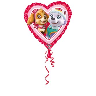Paw Patrol Love Folienballon, Girl
