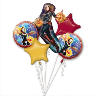 Ballon Bouquet Captain Marvel