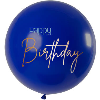 Ballons Elegant True Blue XL