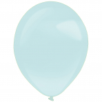 50 Luftballons 35 cm - Pastell Pearl Mint