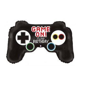 Folienballon Game Controller - Birthday
