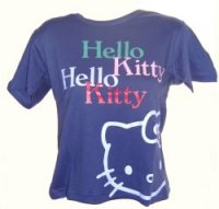 Hello Kitty-T-Shirt LAYER BLUE